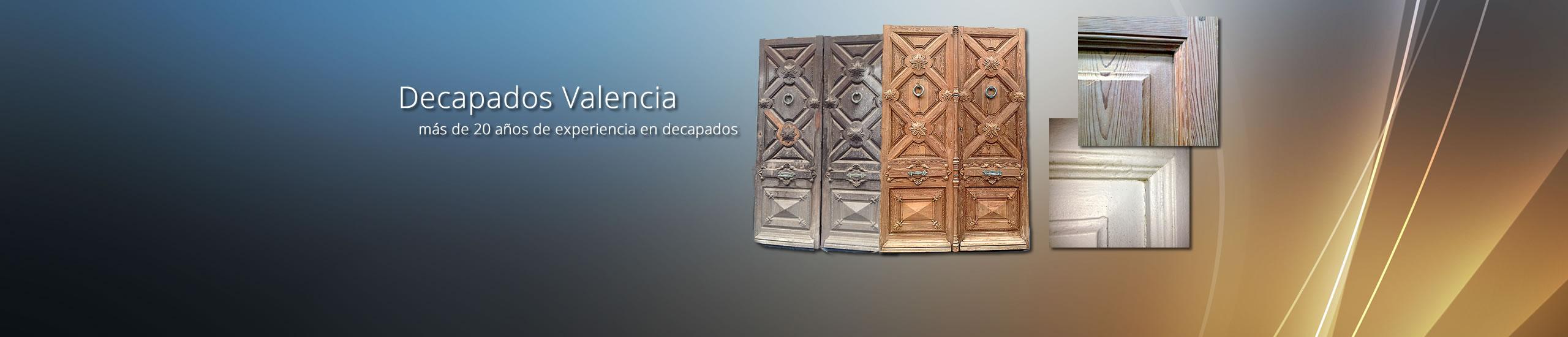 Decapados Valencia