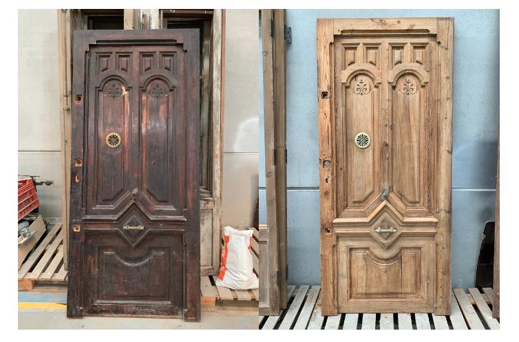 recupuerar y utilizar puerta antigua